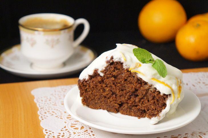 Морковно-шоколадный кекс простой рецепт с фотографиями