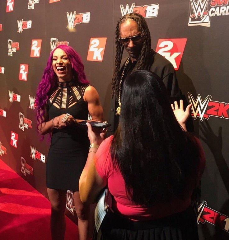Sasha Banks & Snoop Dogg