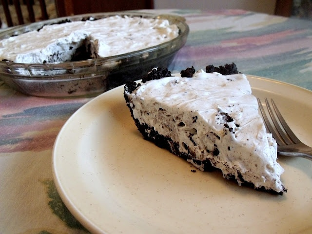 cookies and cream no-bake cheesecake