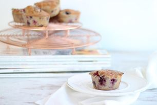 Berry Protein Muffins