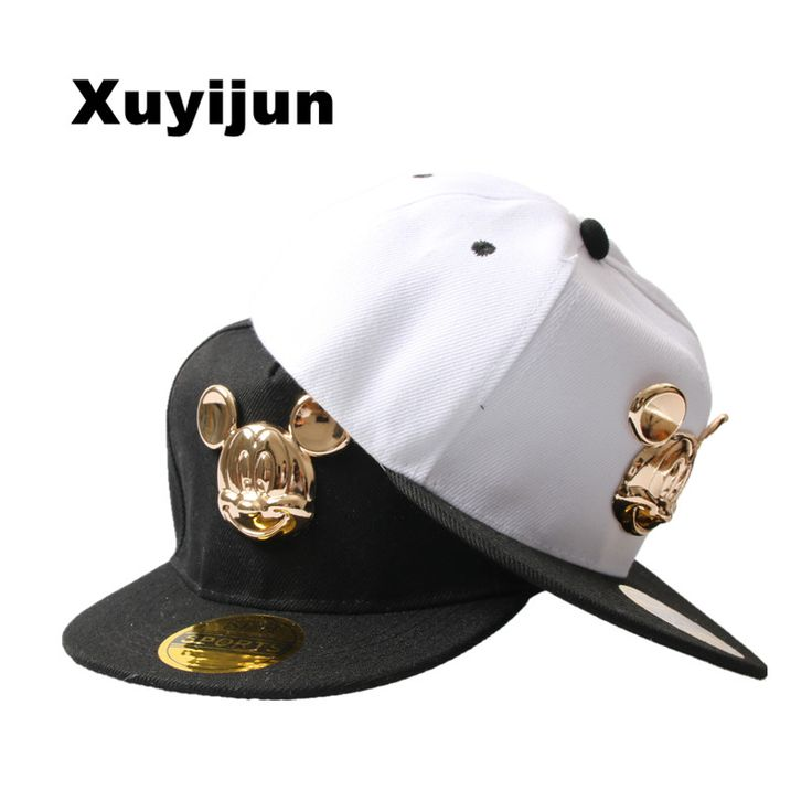 Xuyijun Durable 2017 New Men's Cap flat-brimmed  hat baby kids baseball cap hip-hop hat boys and girls snapback 4-10 year child