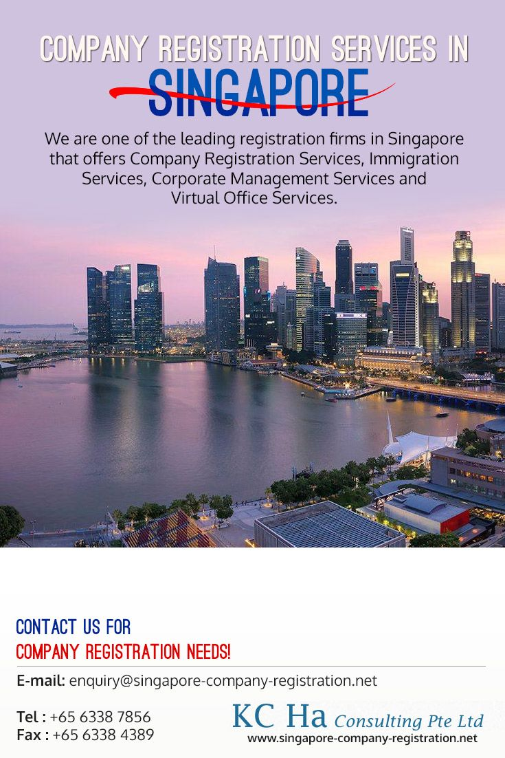 We are one of the leading registration firms in Singapore that offers #Company_Registration Services, Immigration Services, Corporate Management Services and Virtual Office Services.