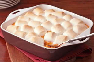 I'm making this for Thanksgiving! Baked Sweet Potatoes with Marshmallows recipe