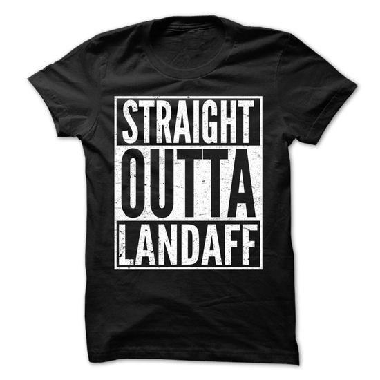 Straight Outta Landaff - Awesome Team Shirt ! - #christmas gift #anniversary gift. PRICE CUT => https://www.sunfrog.com/LifeStyle/Straight-Outta-Landaff--Awesome-Team-Shirt-.html?68278