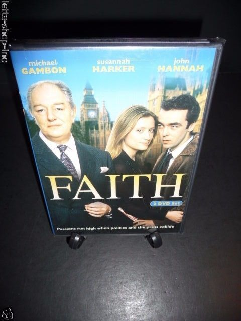 Faith (DVD, 2-Disc, 2005) Michael Gambon, Susannah Harker  New Sealed