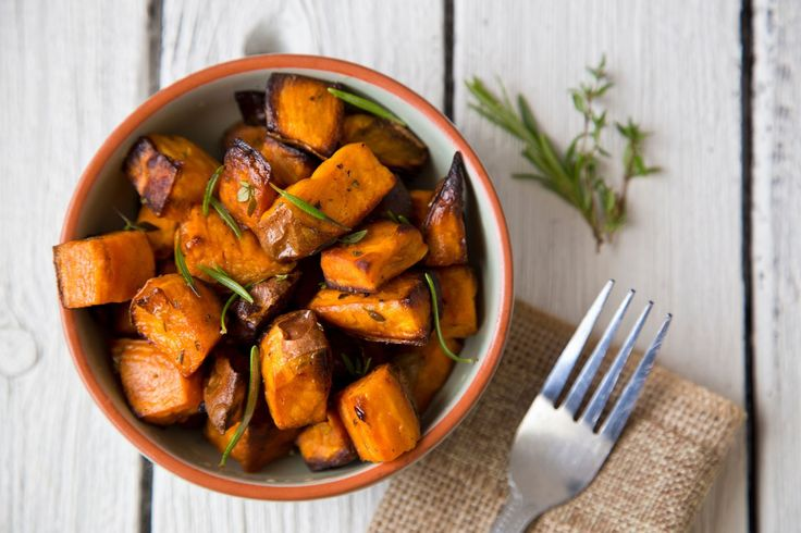 Go ahead and swap out that Russet potato for a sweet potato. It's filled with vitamins and minerals and isn't too high in calories, either.