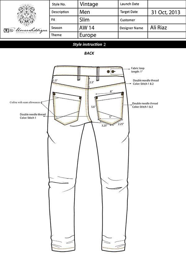 Mens Jeans Pattern : jeans, pattern, Jeans, (Denim), Packs, Behance, Denim, Casual, Sportswear,, Patterned
