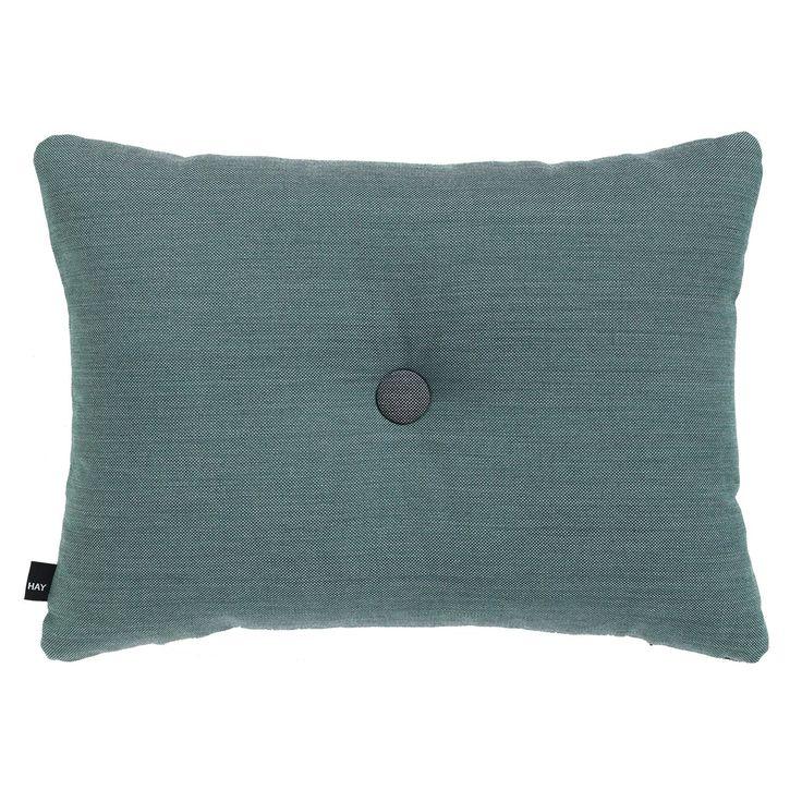 Dot Surface kudde, aqua – Hay – Köp online på Rum21.se