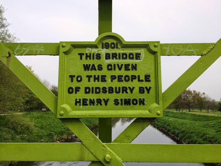 Simon's bridge in Didsbury, Manchester