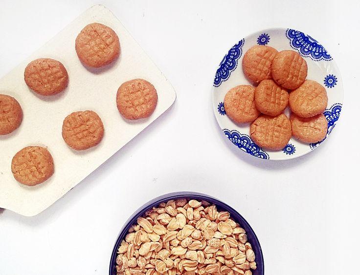 orzechowe ciasteczka bez pieczenia (3 składniki)