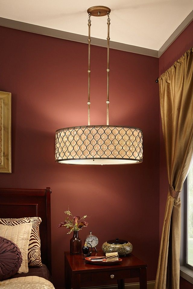 drum pendant bedroom light fixtures design. The Feiss Lucia Collection Adds Just Right Touch Of Glam To Your Bedroom. Drum Pendant LightsLight Bedroom Light Fixtures Design O