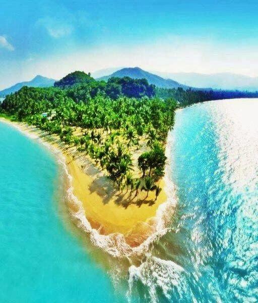 Koh Samui Island, Thailand #nature #travel #sunset #waterfall #beach #ocean #sea #sand #tour Visit us at: www.anothersideofsandiegotours.com