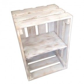 Our vegetable crates are ideal for retail displays and look great as book shelves, bedside tables and bathroom cabinets. They are modular, versatile, stackable and give off that funky urban loft style living vibe. The dimensions are L 500mm x W 360mm x H 285mm. But can be customised to suit your needs.  All Products Are Made To Order