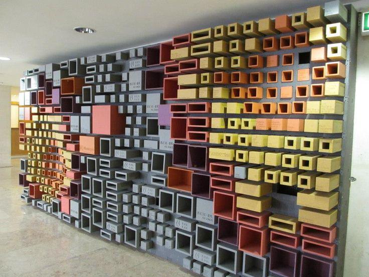 #valchromat #iscte #solidary #wall #art #design #fablab