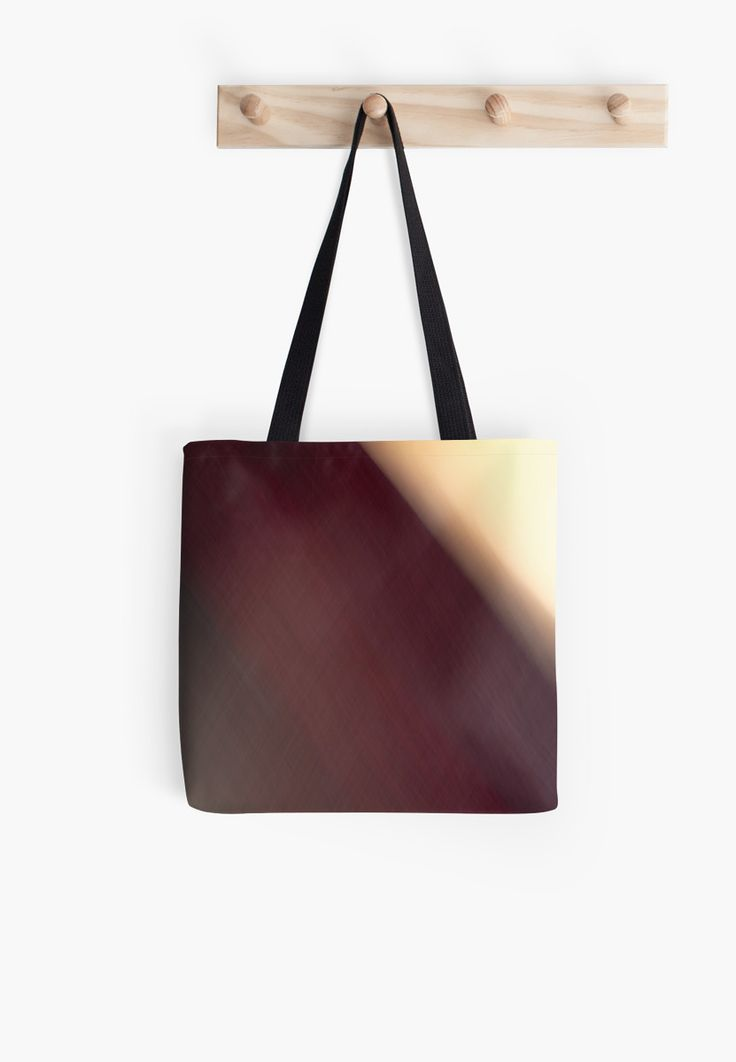 Shades of Burgundy Abstract Tote Bags by Galerie 503