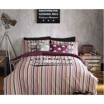 Lets get #Preppy with #AmericanFreshman bedding from only £7.20 #FreeDelivery #DesignerBedding #Accessories #bizitalk #purplebiz