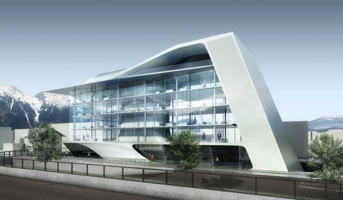 17 best images about architecture commercial building on for Modern office building design concepts