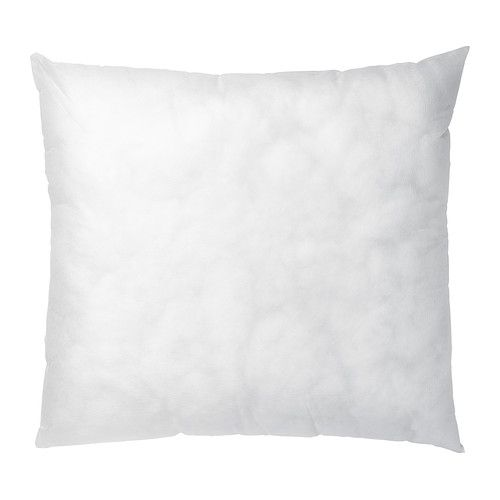 IKEA - INNER, Inner cushion, , Soft, resilient polyester filling holds its shape and gives your body soft support.</t><t>The cushion is ideal to use when you read in bed as it covers your entire back.