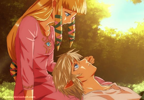link and zelda relationship in skyward sword