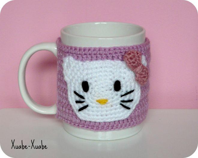31 best cubre tazas crochet images on Pinterest | Taza de café ...