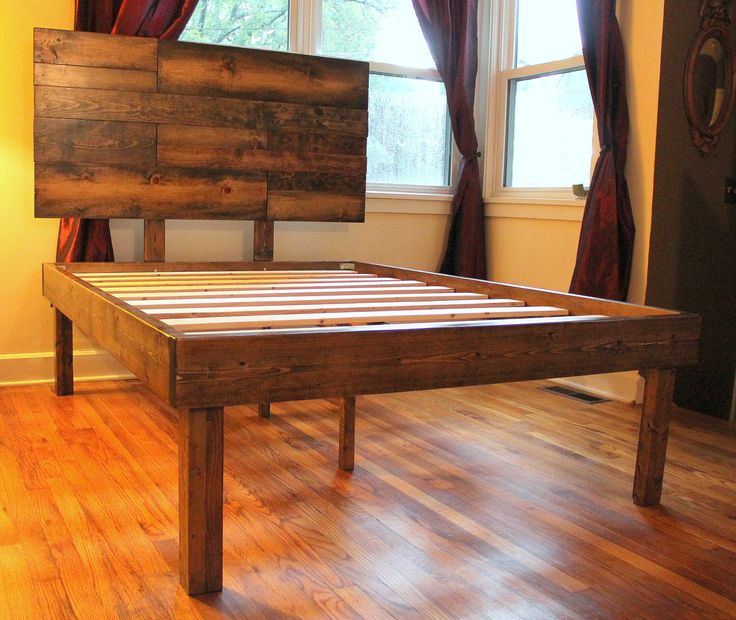Wooden Bed Headboards Designs best 25+ bed frame with headboard ideas on pinterest