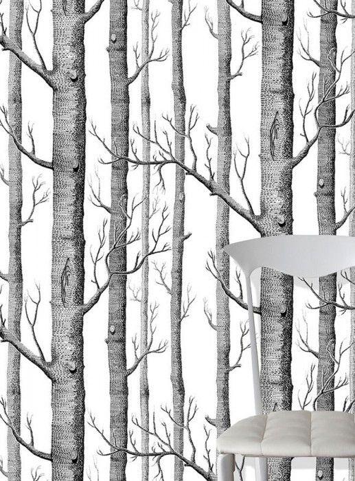 Birch Forest | Carta da parati degli anni 70