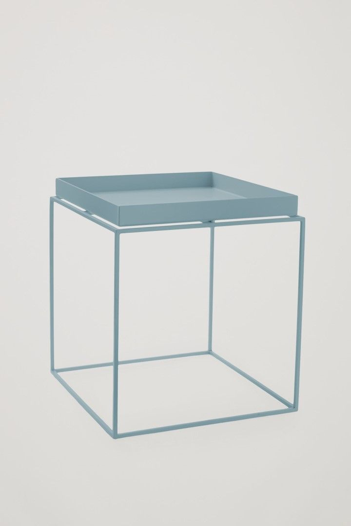COS HAY tray side table in Grey Blue
