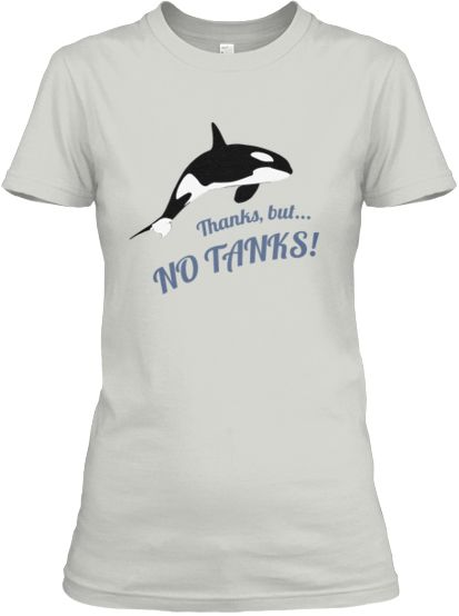 Save The Orcas Thanks, But No Tanks