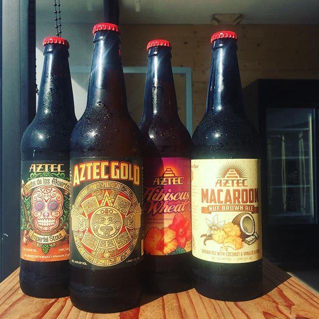 Our friends at @aztecbrewery were able to bottle some beer This Morning so we could have them for this weekend! 🍻 #MacaroonNutBrown #AztecGold #AleTalesSD #AleTales #KnowYourBeer #SanDiego #SanDiegoBeer #LindaVista #DrinkSD #IndieBeer  #DrinkIndieBeer #IndependentBeer #CraftBeer #DrinkCraftBeer #Stout #WheatBeer #Lager #BrownAle #BeerMe #InstaBeer #BeerGram #sandiego #sandiegoconnection #sdlocals #sandiegolocals - posted by Ale Tales https://www.instagram.com/aletalessd. See more San Diego…