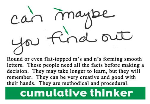 handwriting analysis crossed tv