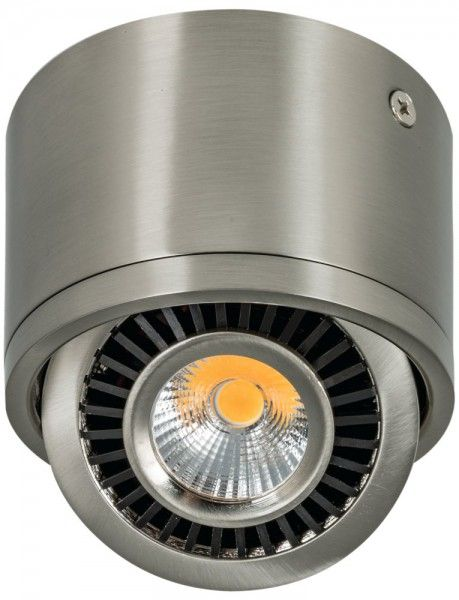 LED Aufbaustrahler 7W schwenkbar 88x60mm Edelstahl