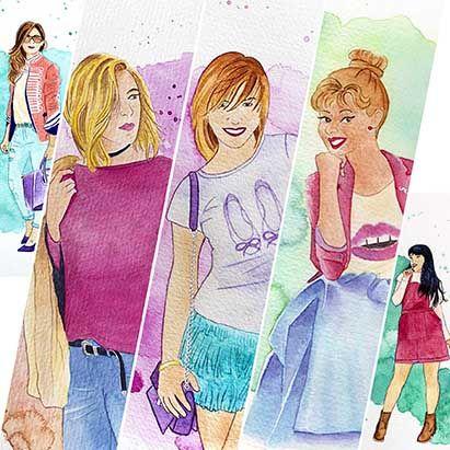 Las primeras blogueras en cambiar su imagen por una #acuarela