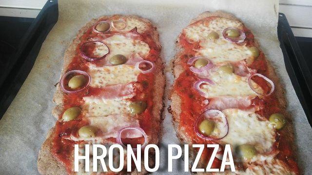 Ko kaže da ne može zdrava pizza?! Kod pizze je testo bitno skoro kao i ono što ide na pizzu. ja volim kada je tanko i hrskavo. Ovo je bio prvi put da pravim hrono varijantu i nisam imala vremena za...
