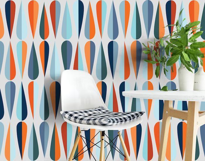 10 Best Mid Century Modern Wallpaper Ideas Mid Century Modern Wallpaper Modern Wallpaper Mid Century Wallpaper