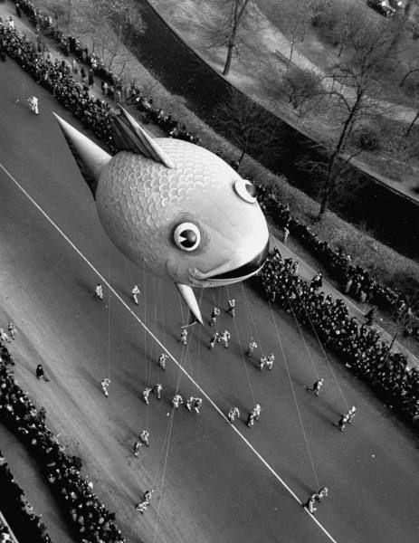 Macy's Thanksgiving Day Parade, New York, November 25, 1941