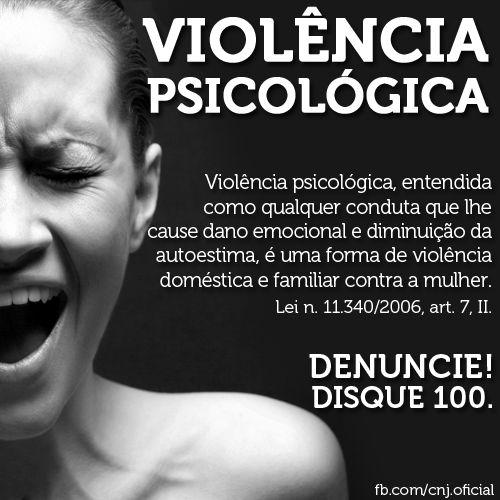 A Lei Maria da Penha (11.340/2006) considera como forma de violência contra a mulher: a violência física, psicológica, sexual, patrimonial e moral. Fonte: Conselhos Nacional de Justiça