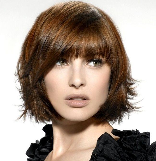 cool Женская стрижка лесенка на короткие волосы (50 фото) — С челкой или без? Читай больше http://avrorra.com/zhenskaja-strizhka-lesenka-na-korotkie-volosy/