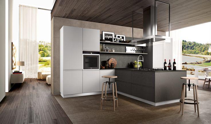 17 best images about cucine moderne wega on pinterest for Cucine moderne scure