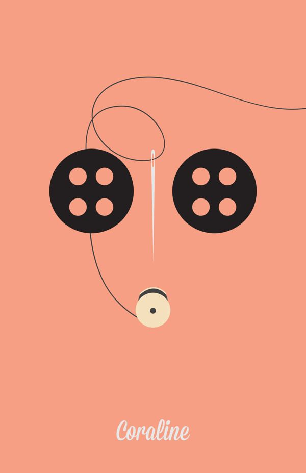 Minimalist Posters by Angela Skinner in 110+ New Minimal Movie Posters