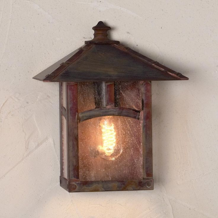 Craftsman Timberframe Outdoor Wall Light - Shades of Light