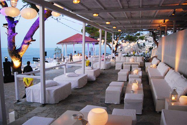GREECE CHANNEL | Sunset Restaurant in Hydra Island: weddings hydra, events greece, restaurant greece, hydra weddings, hydra restaurants