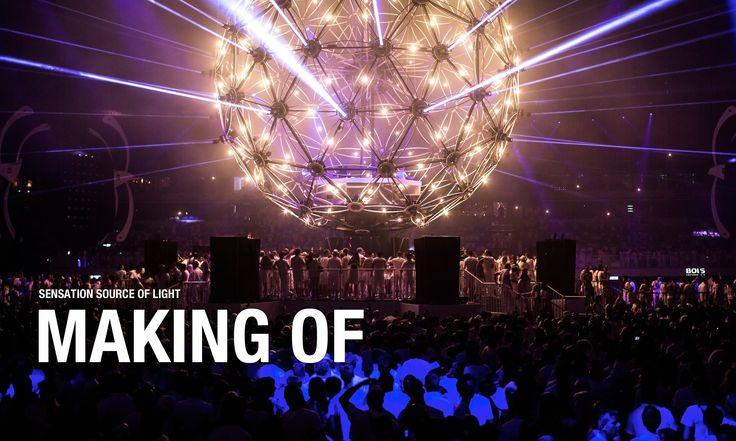 The making of Sensation Amsterdam '12 Source of Light