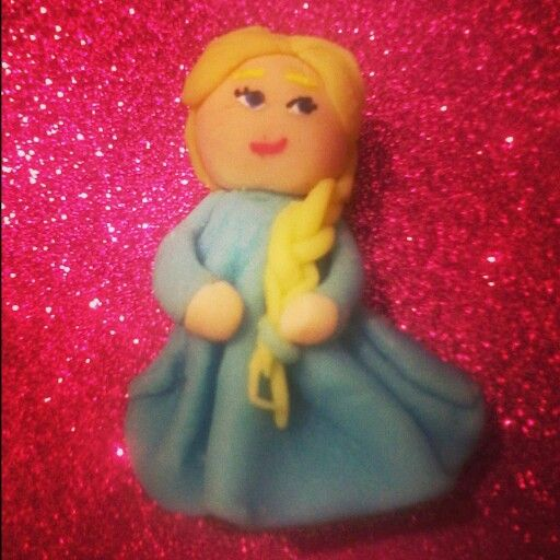 Elsa :D tutorial de pinksugarcotton