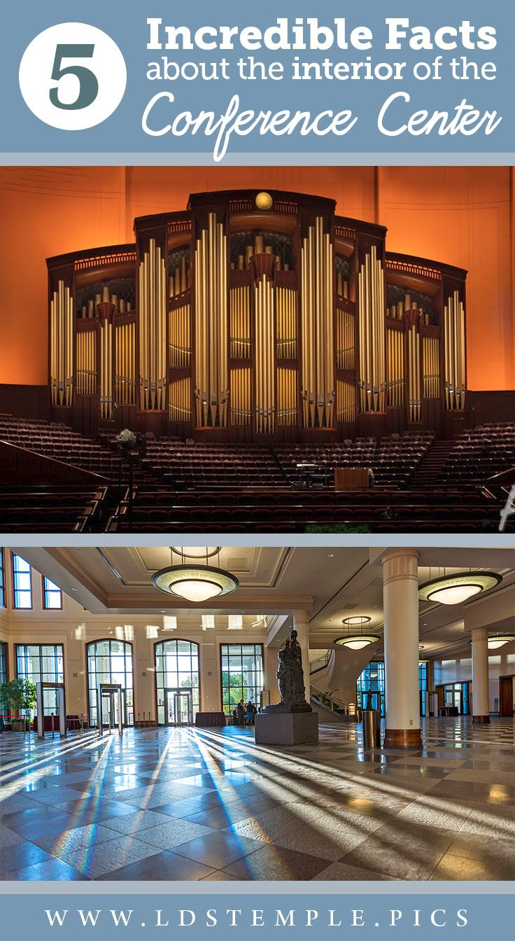 5 Incredible Facts About the Interior of the LDS Conference Center