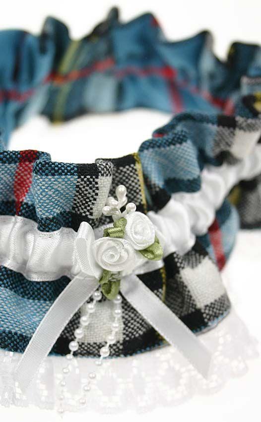 Wool Tartan Wedding Garter by Scotweb Traditional Scottish Ladieswear Tartan Wedding ideas, Scottish Wedding, Tartan patterned Ideas and Inspirations. Wedding Directory-UK