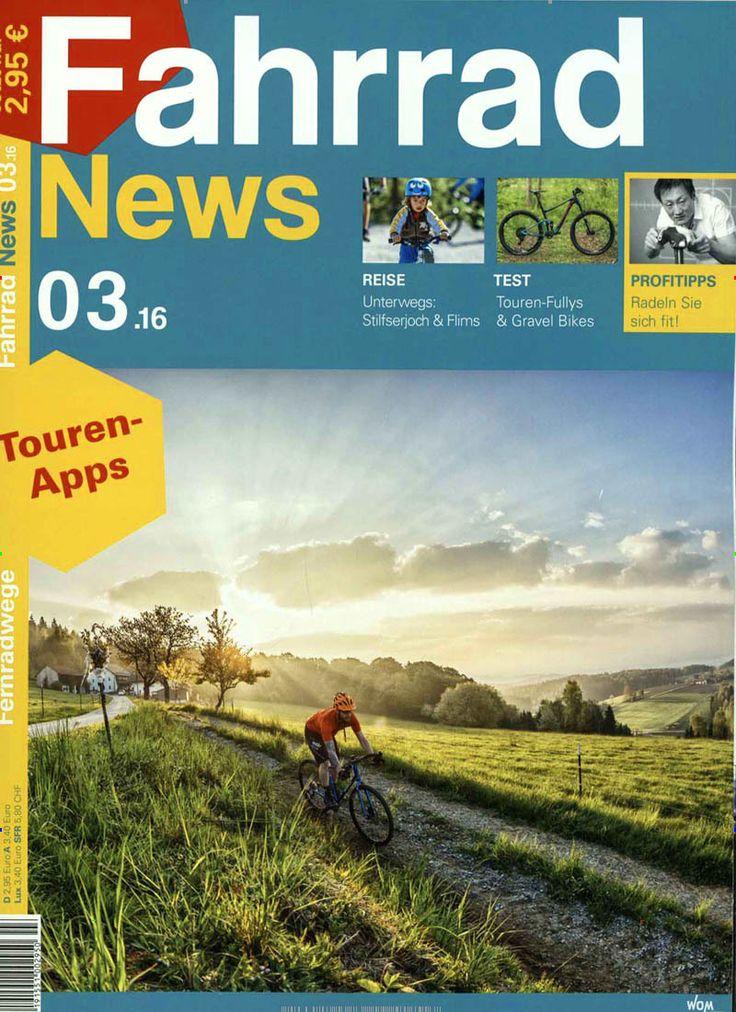 Touren-Apps. Gefunden in: Fahrrad News, Nr. 3/2016