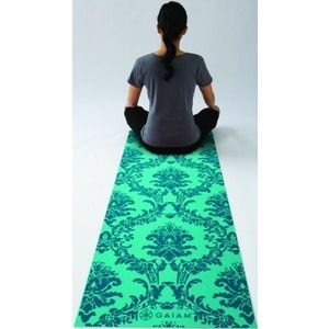Amazon.com: Gaiam Neo-baroque Yoga Mat Blues (3mm): Sports & Outdoors