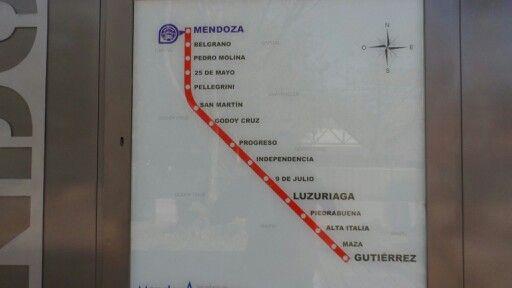 New LRT in Mendoza, Argentina