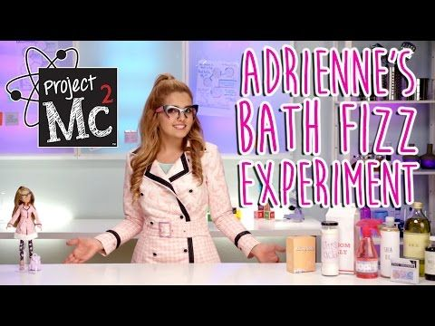 Project Mc² | McKeyla McAlister Glitter Light Bulb Experiment + Doll | Cast Unboxing: Mika Abdalla - YouTube