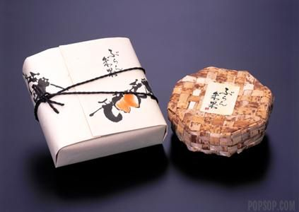 Traditional Japanese packaging